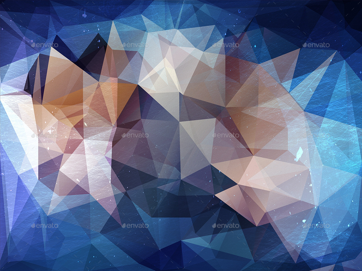 12-grunge-polygonal-backgrounds