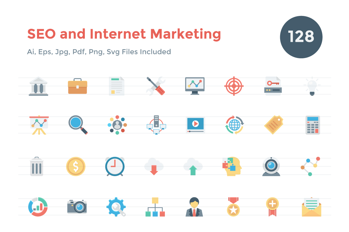 128-Seo-and-Internet-Marketing-Icons