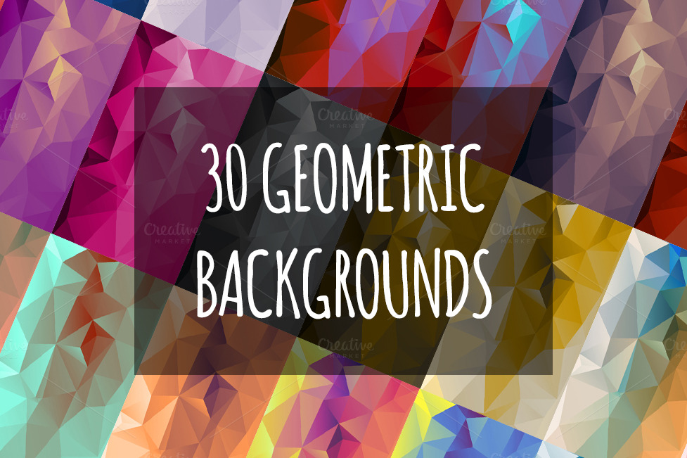 30-Geometric-Backgrounds