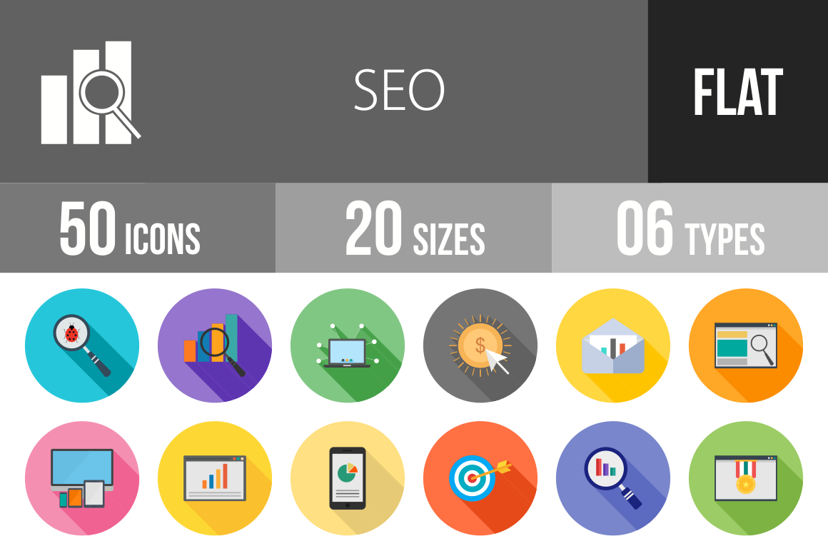 50-SEO-Flat-Shadowed-Icons