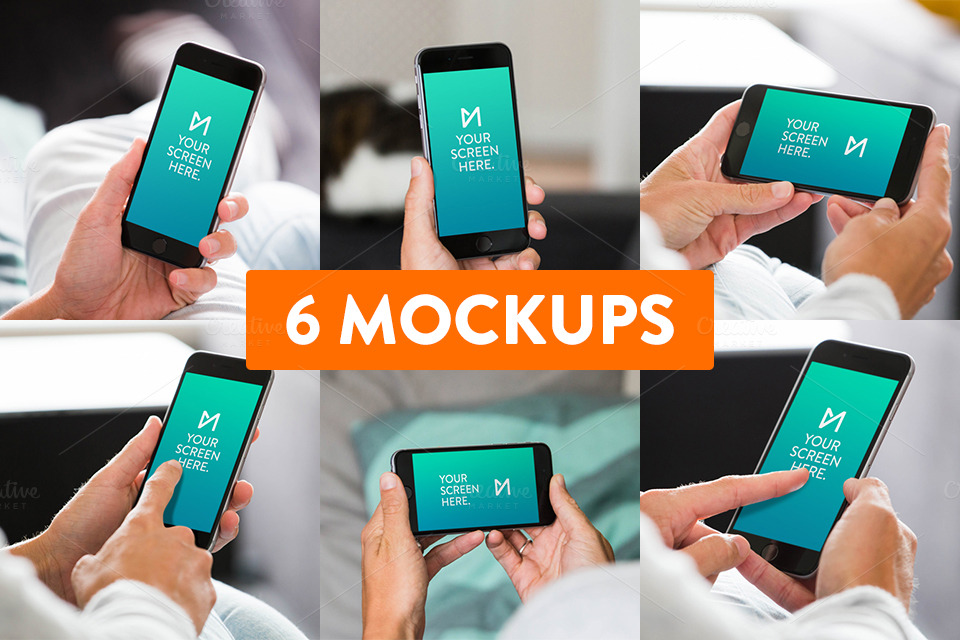 6-Pack-iPhone-6-Mockups