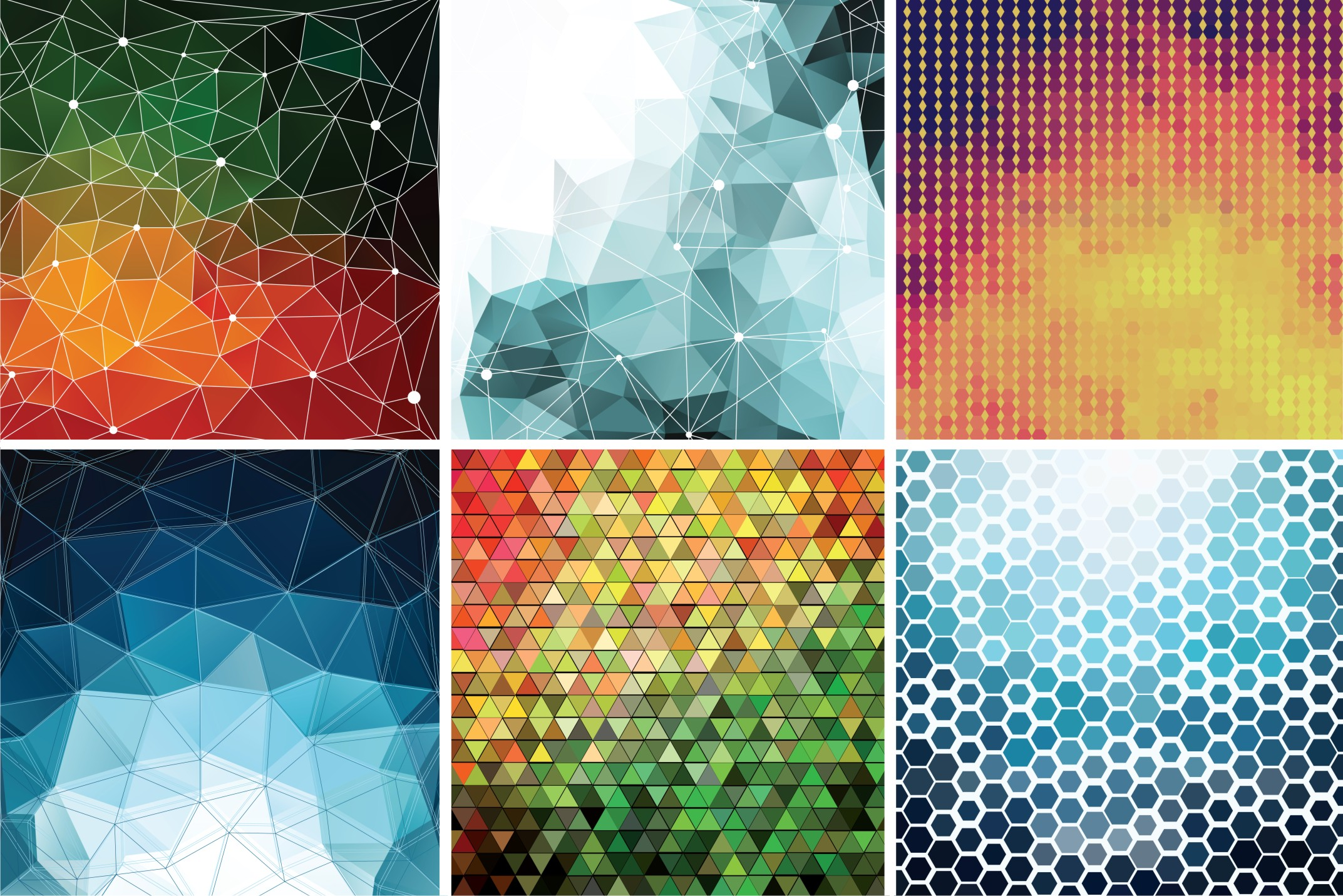 6-Polygon-Backgrounds-in-Vector