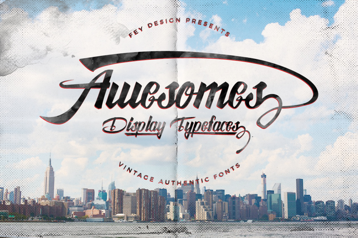 Awesome-Display-Typeface