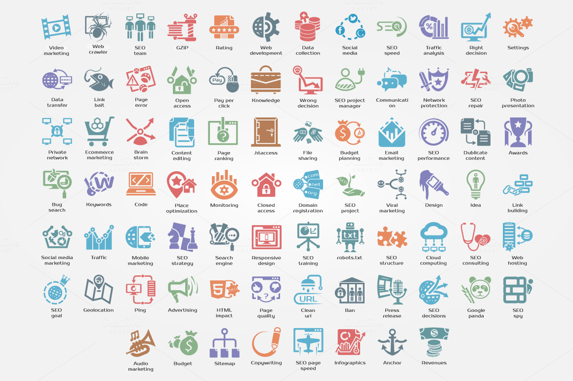 Business-SEO-Logistic-Icons-Bundle