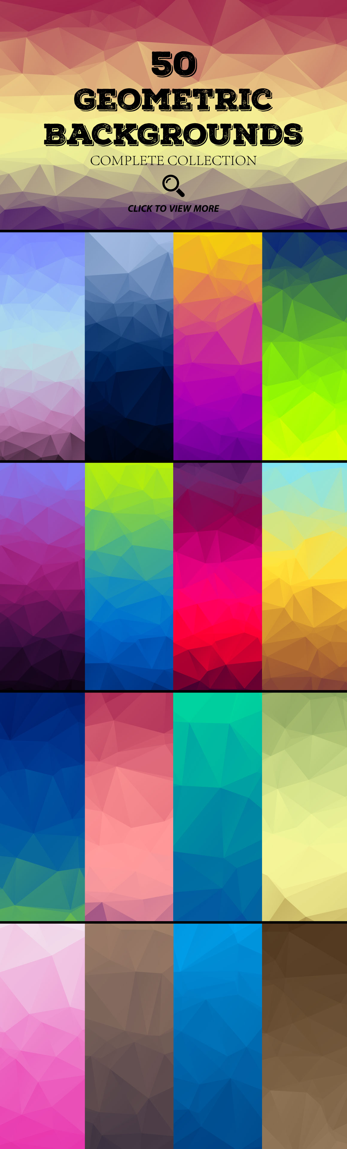 Colour-Polygon-Mega-Pack