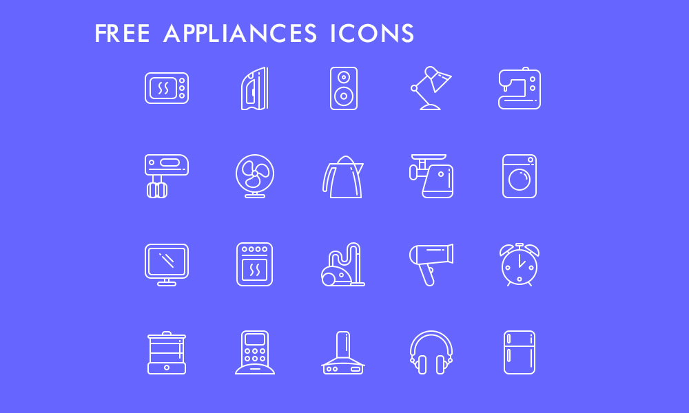Free-Appliances-Icons
