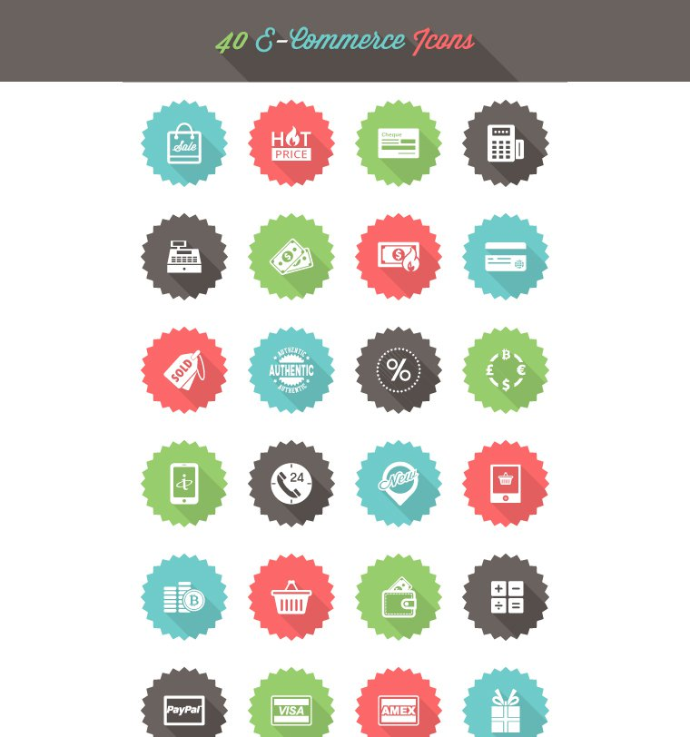 Free-E-Commerce-Icon-Set