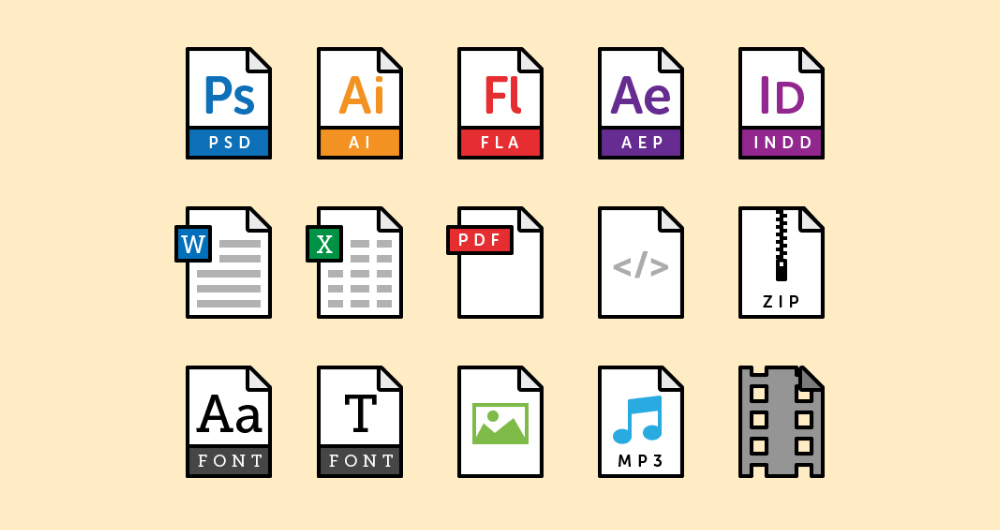 Free-File-Type-Vector-Icons