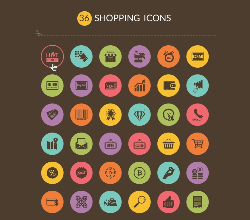 Free-Shopping-Icons1