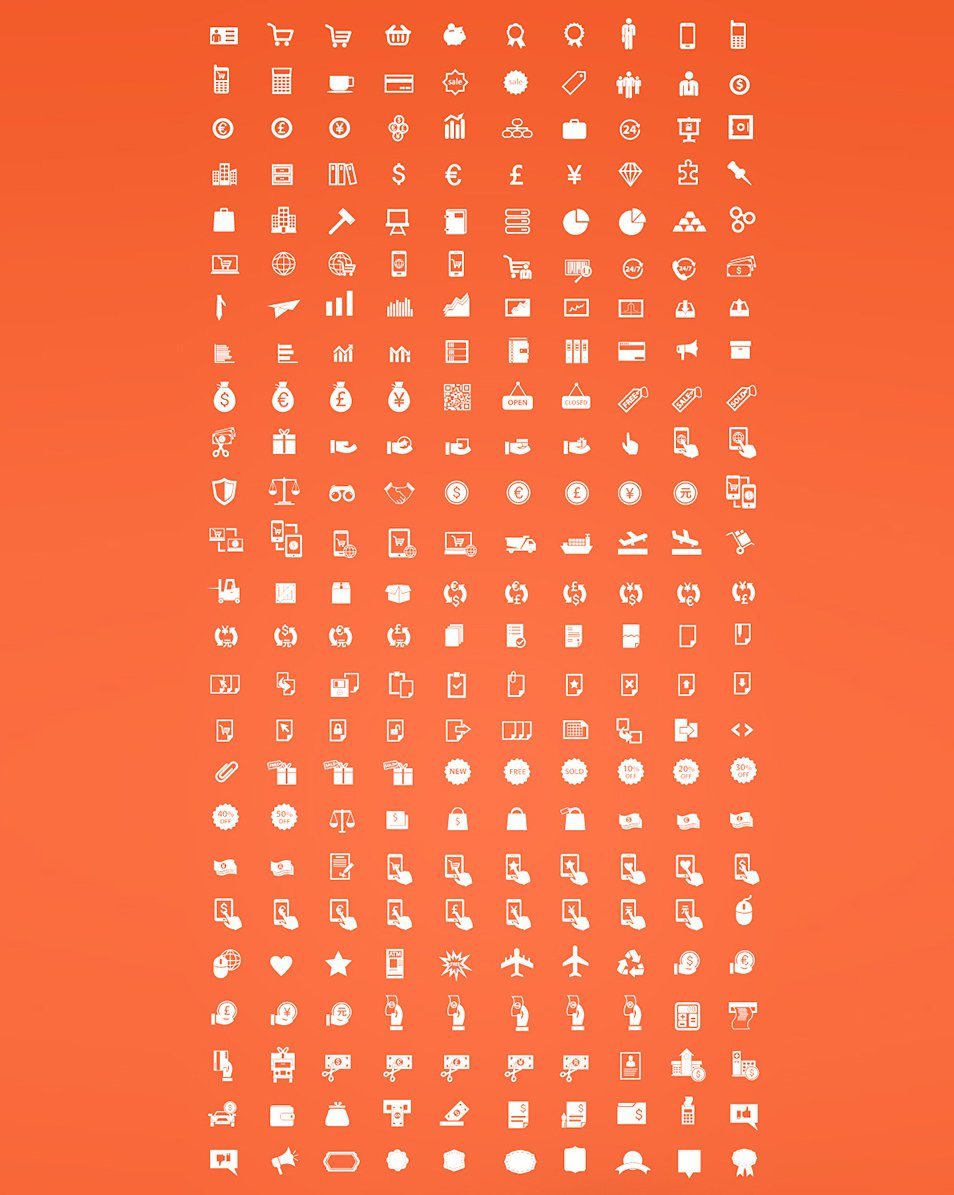 Free-eCommerce-Vector-Icons