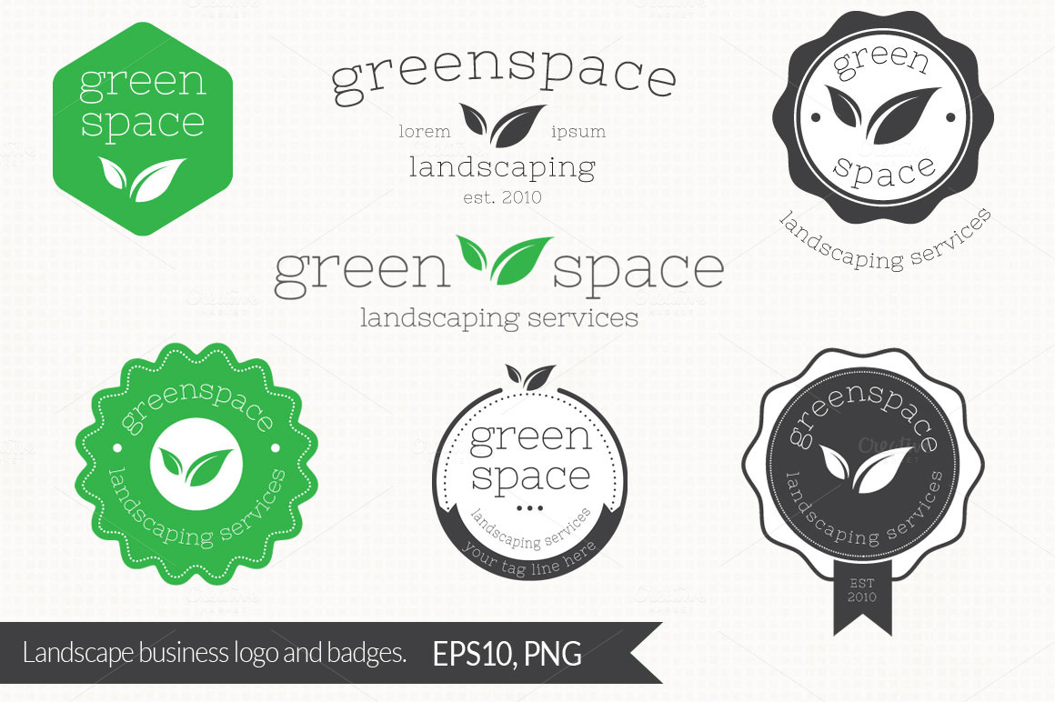 Landscaping-Services-Logo-and-Badges