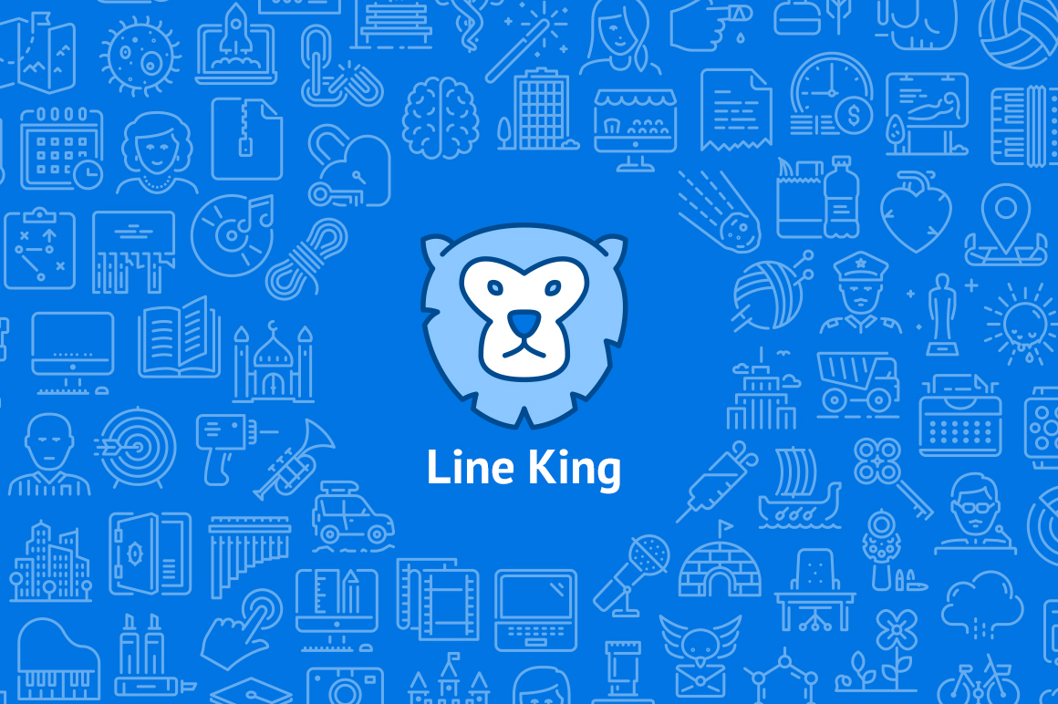 LineKing-iOS-Icons