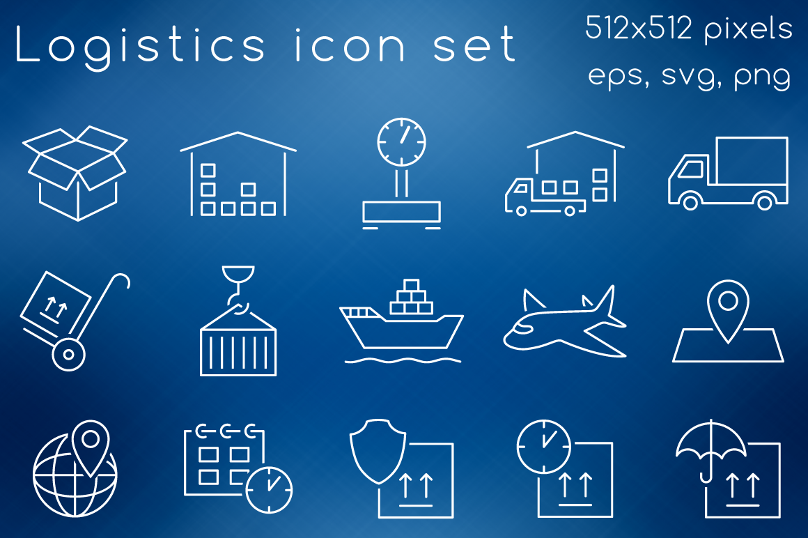 Logistic-icons