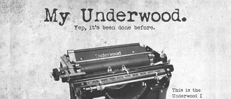 My-Underwood-font