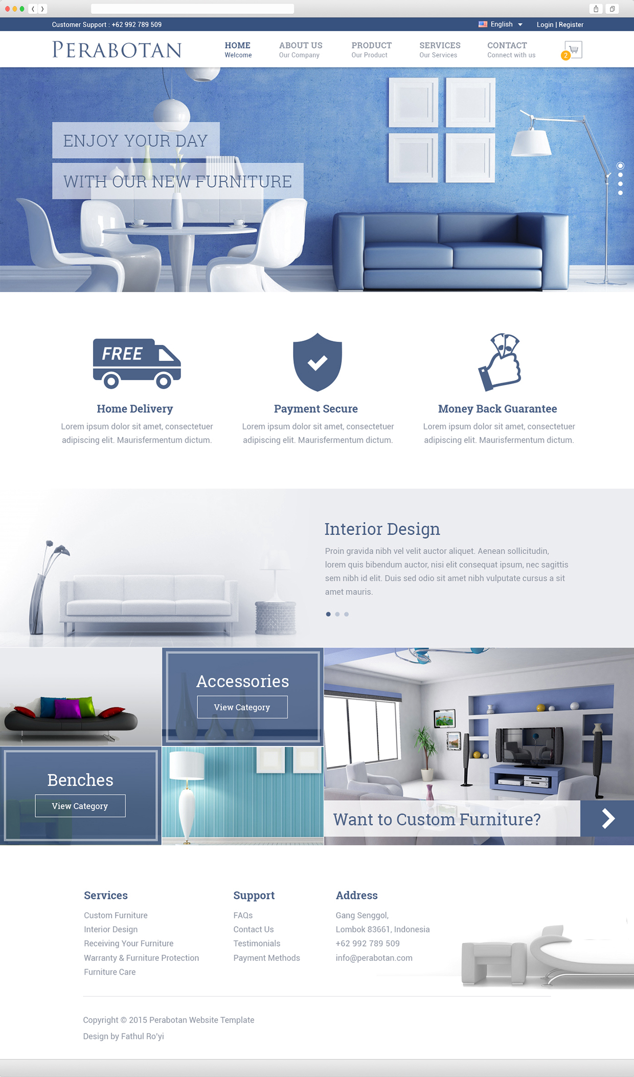 Perabotan-Free-Website-Template