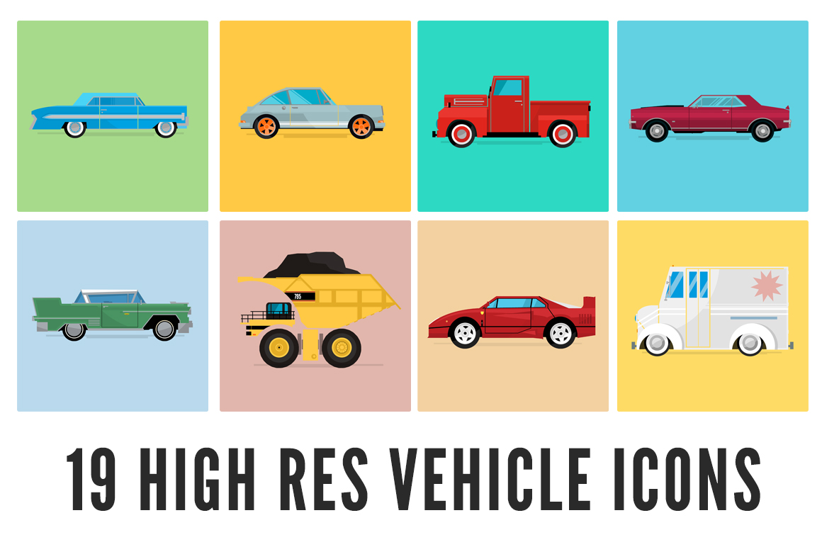 Vehicle-Icon-Set