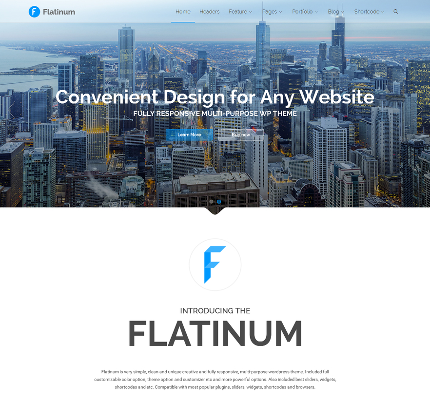 flatinum-multipurpose-wordpress-theme