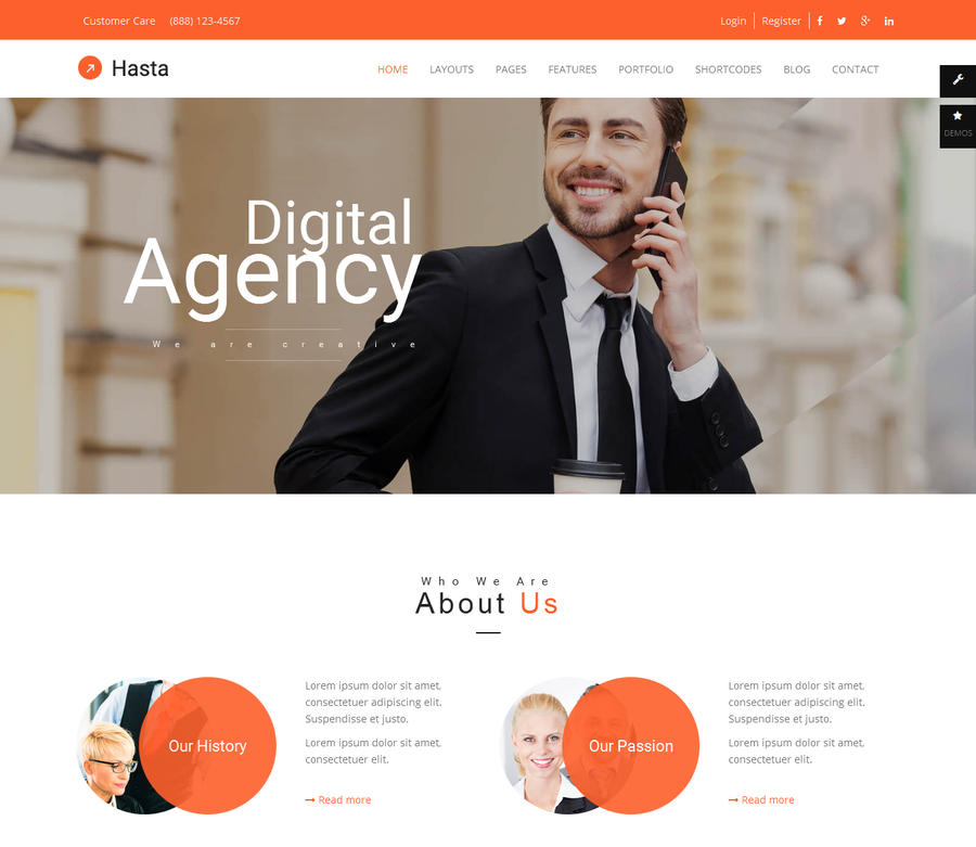 hasta-responsive-multipurpose-html5-template