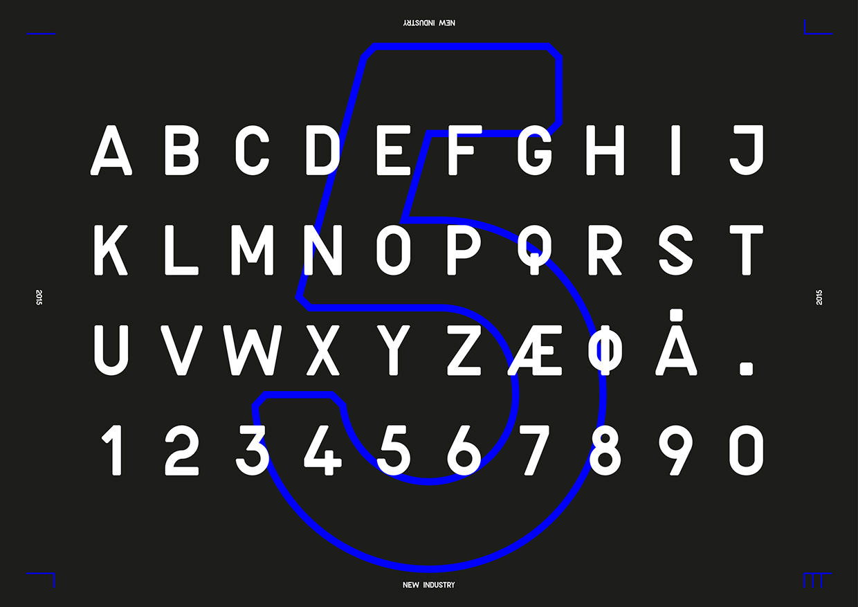 new-industry-free-font