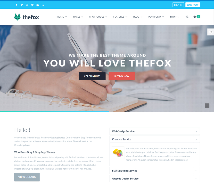 thefox-responsive-multipurpose-wordpress-theme