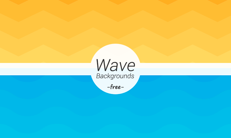 wave-geometric-backgrounds