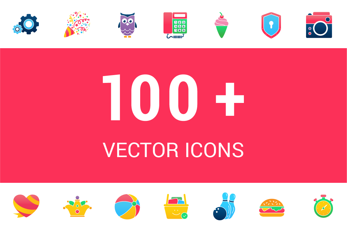 100-Lovely-Vector-Icons