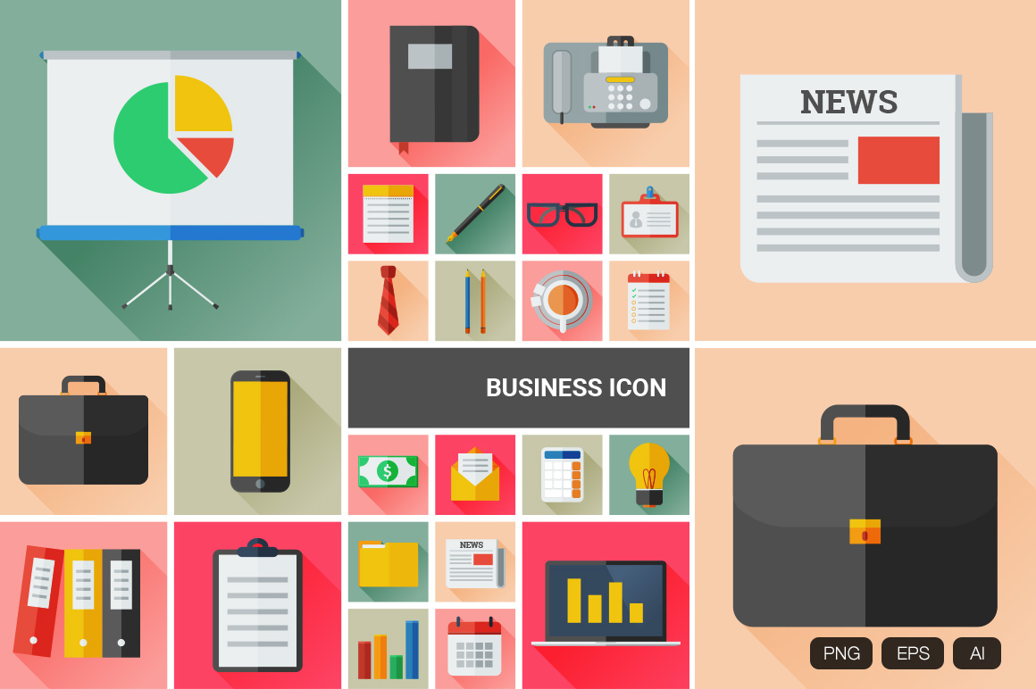 24-Flat-Business-Vector-Icon