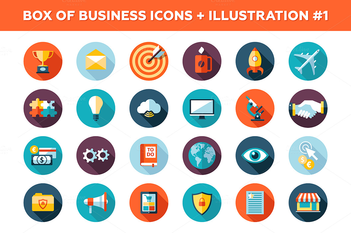 25-Business-Icons-Box