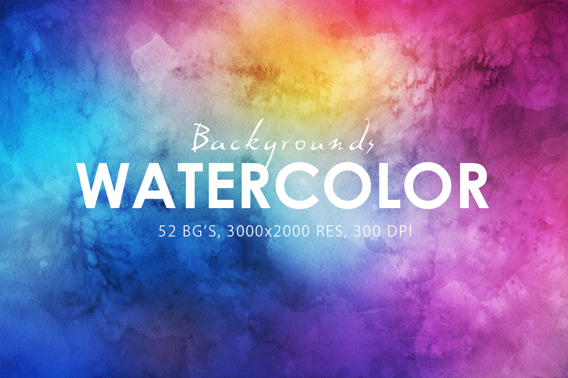 52-Watercolor-Backgrounds