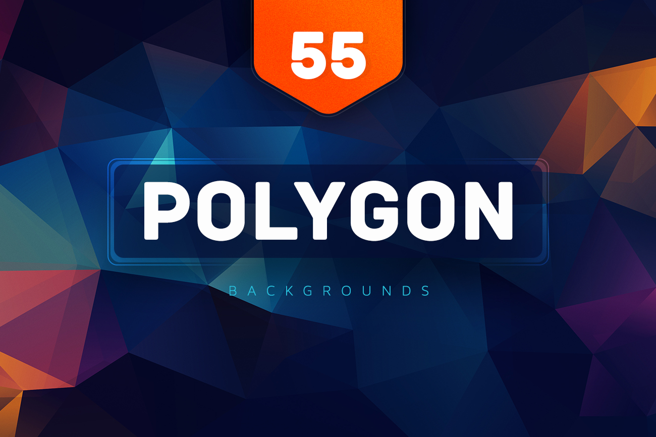 55-Polygon-BGS-V1-colorful-style