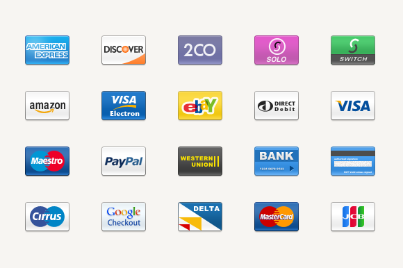 Credit-Cards-Icon-Set