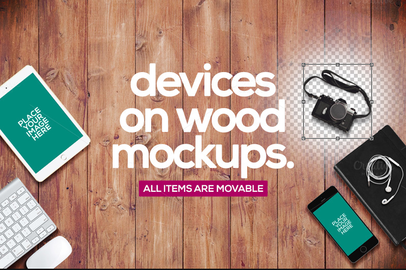 Devices-On-Wood-Mockups