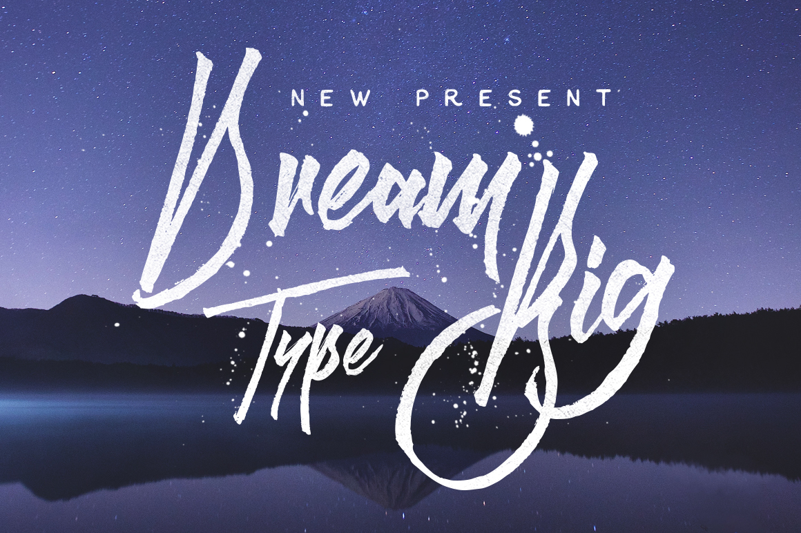 Dream-Big-Typeface