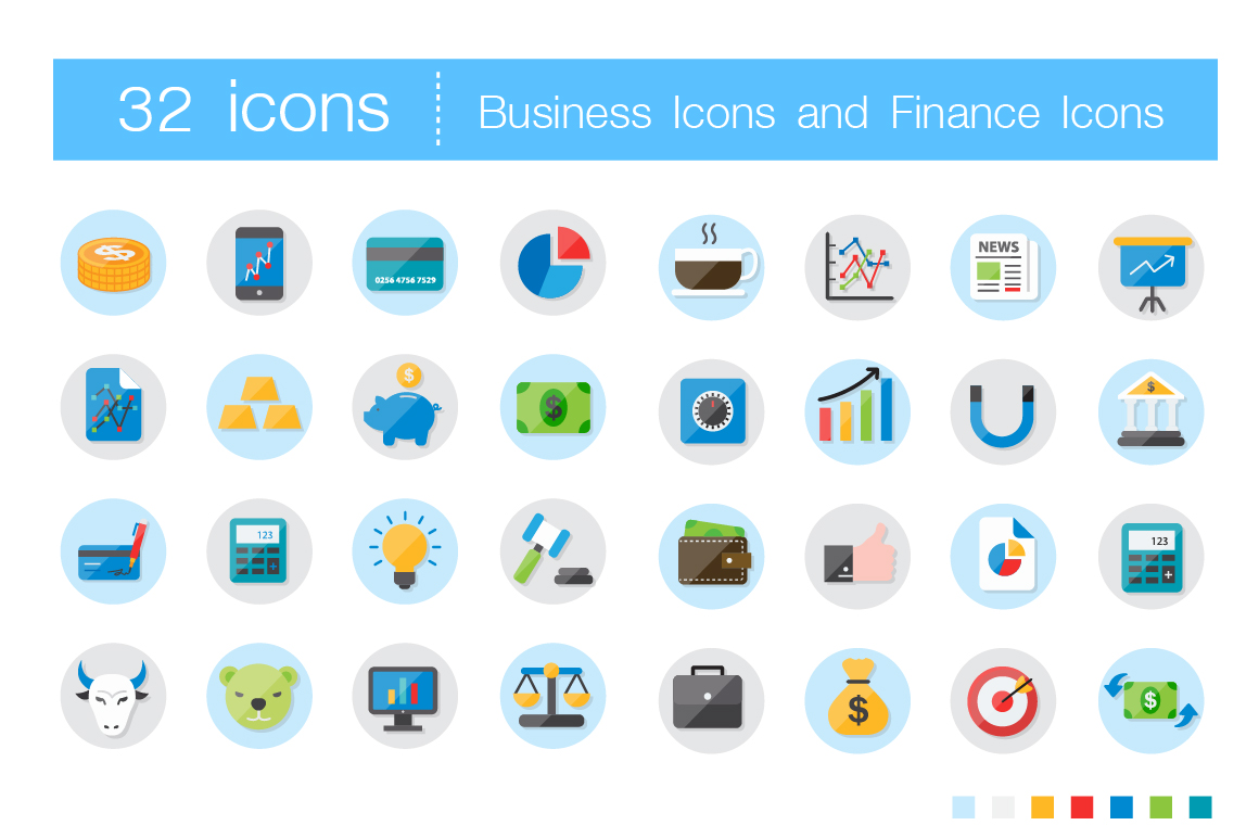 Flat-Icons-For-Business