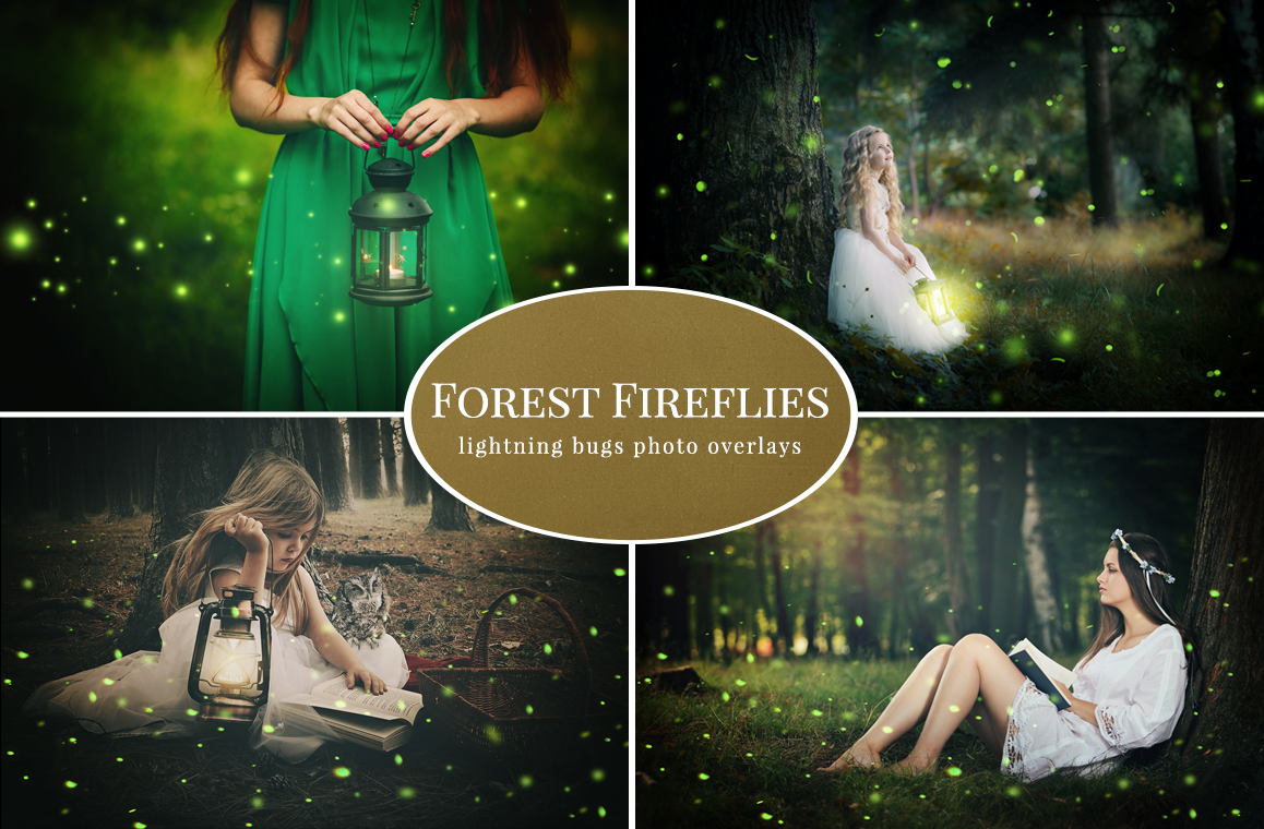 Forest-Fireflies-photo-overlays