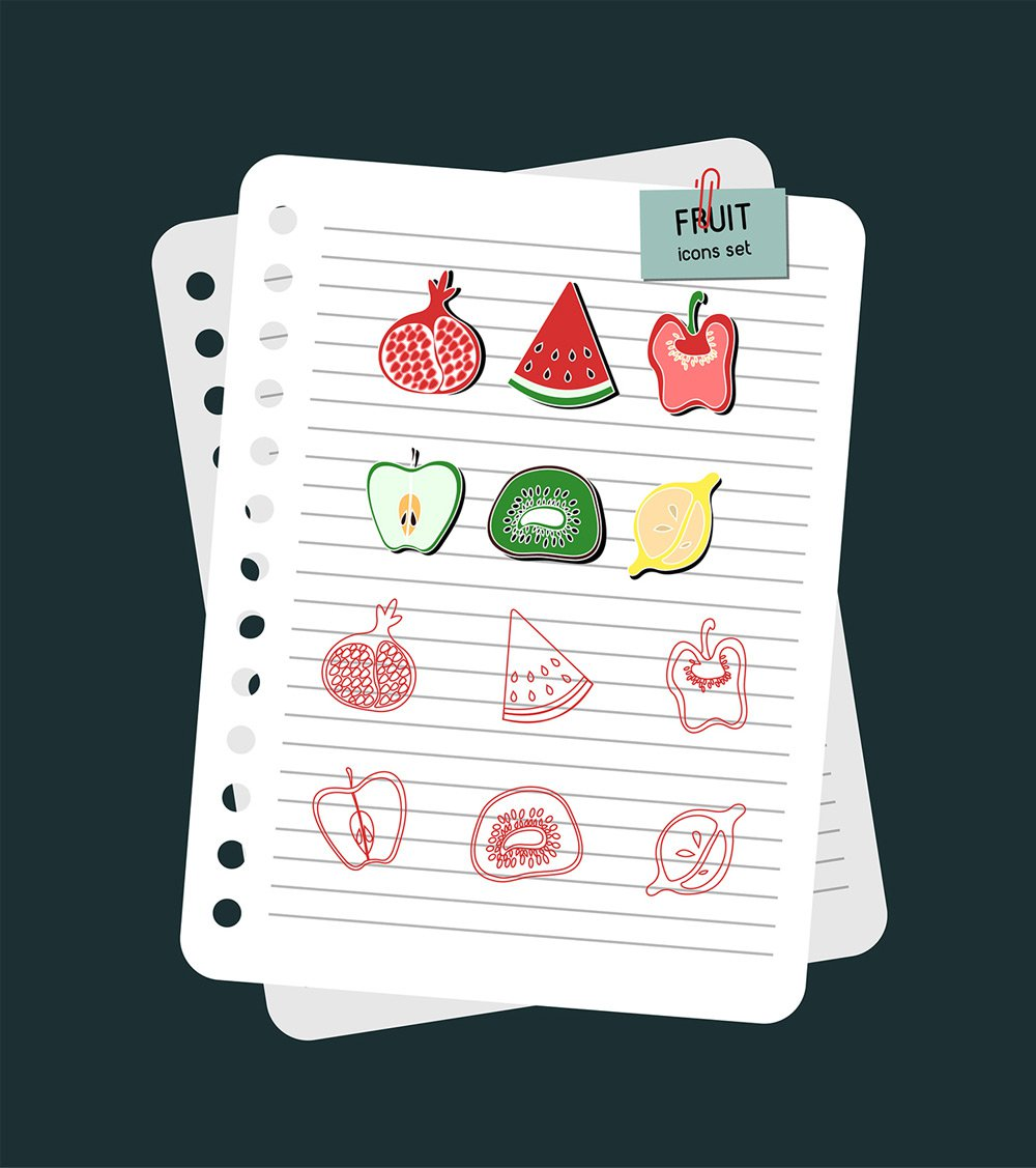 Free-Fruit-Icons-PSD