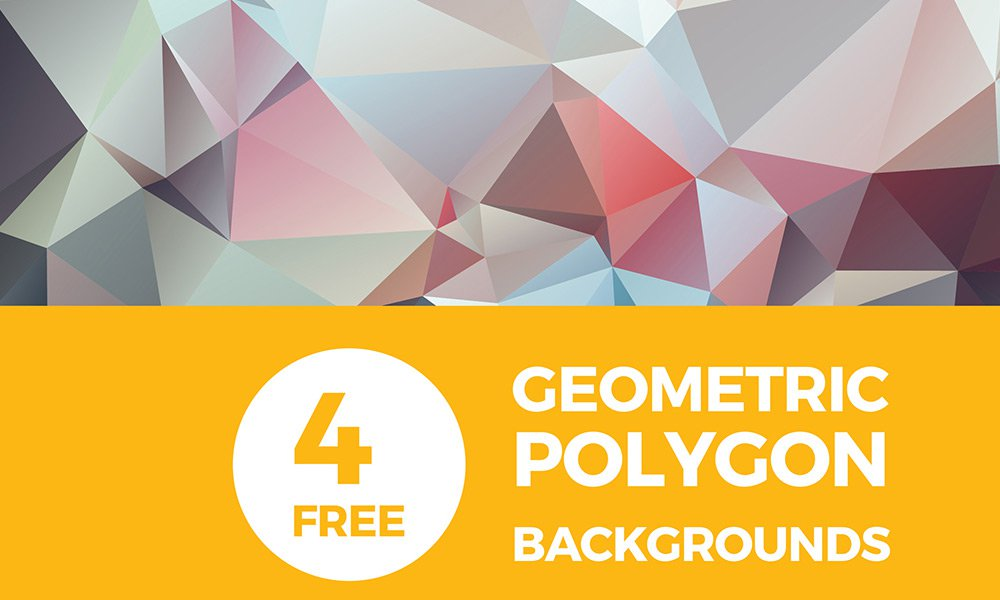 Free-High-Res-Geometric-Polygon-Backgrounds