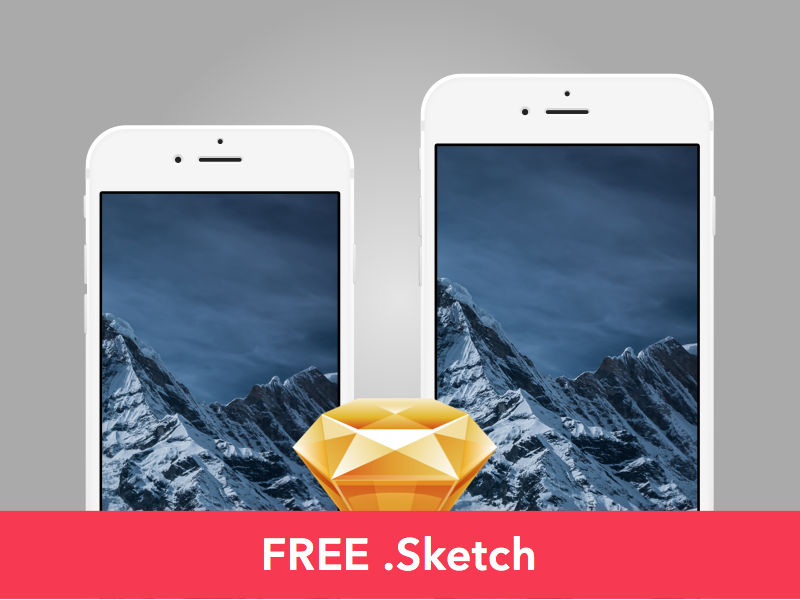 Free-Slate-style-iPhone-6-6-mockup-Sketch