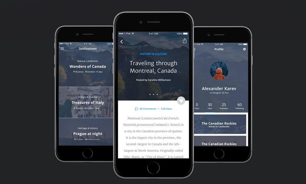 Free-UI-kit-for-Travel-Apps