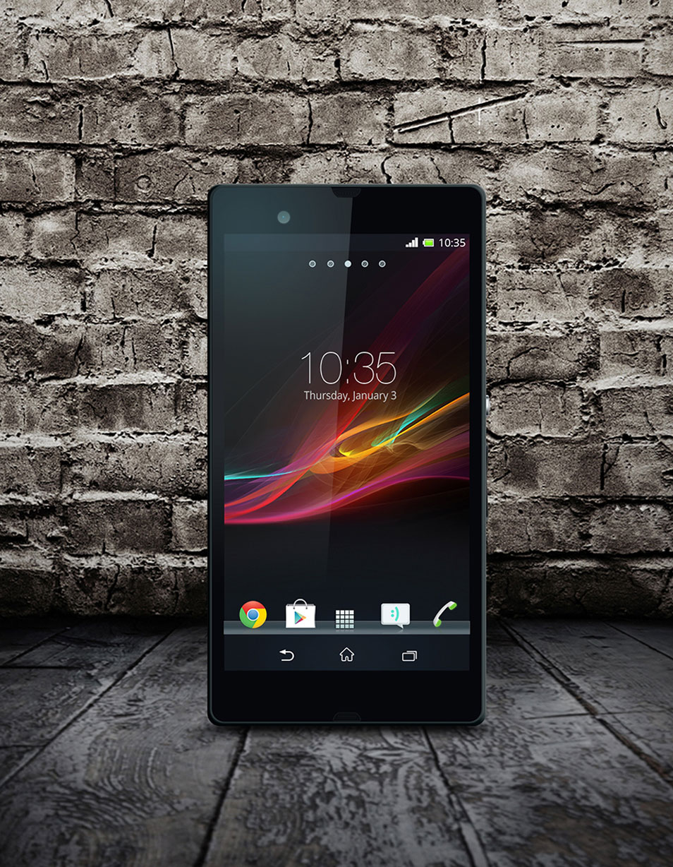 Free-Xperia-Z-PSD-Mock-up