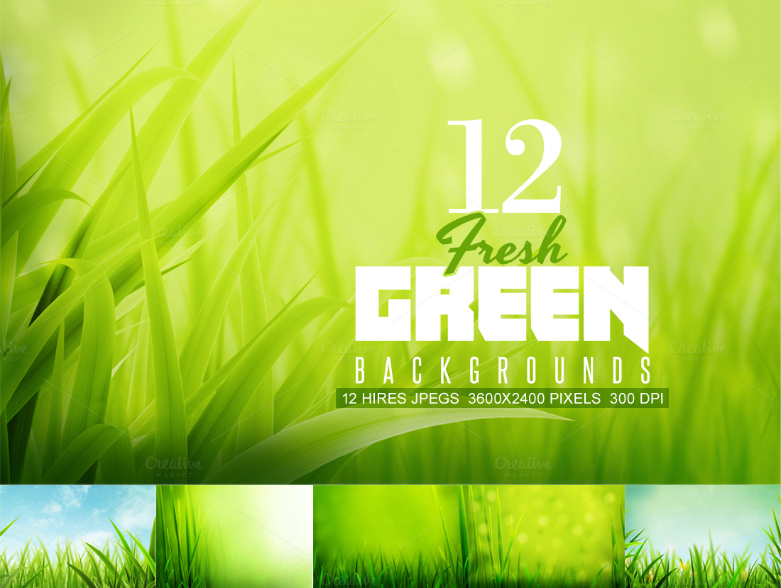 Fresh-GreenSummer-Backgrounds