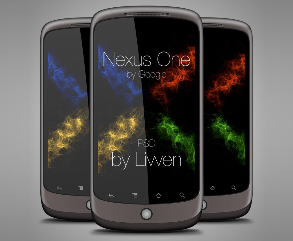 Google-Nexus-One-PSD