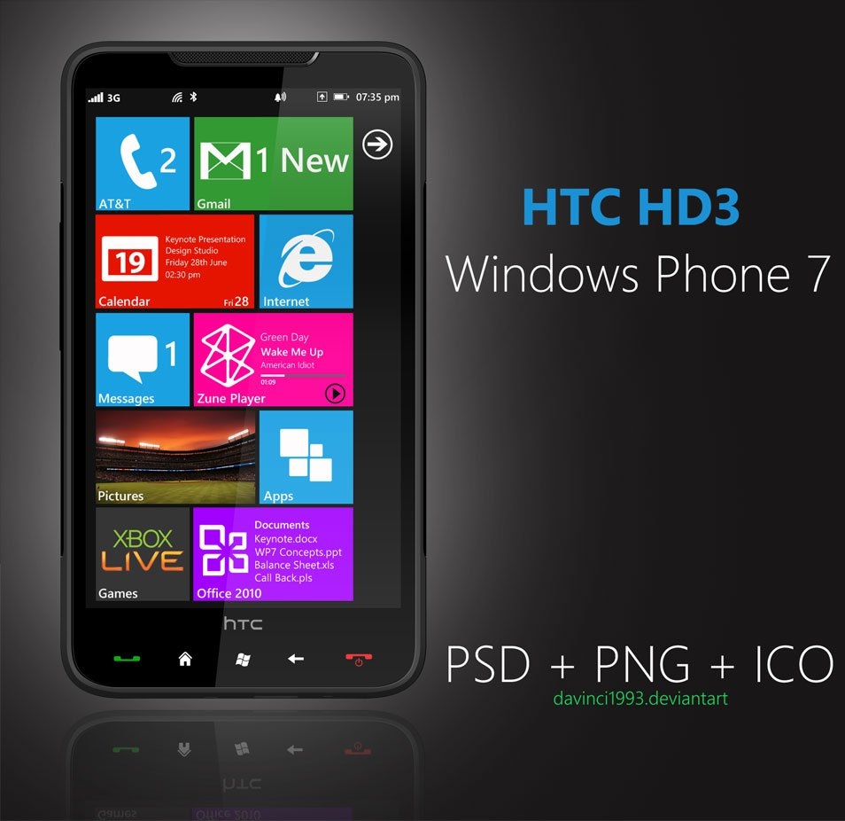 HTC-HD3-PSD