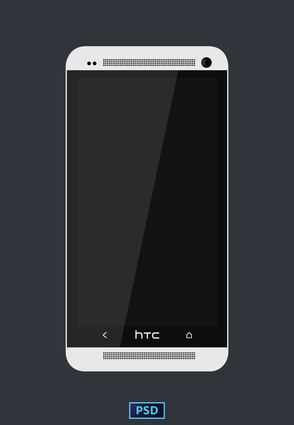 HTC-ONE-TEMPLATE-PSD