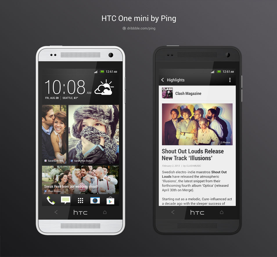 HTC-One-Mini-PSD