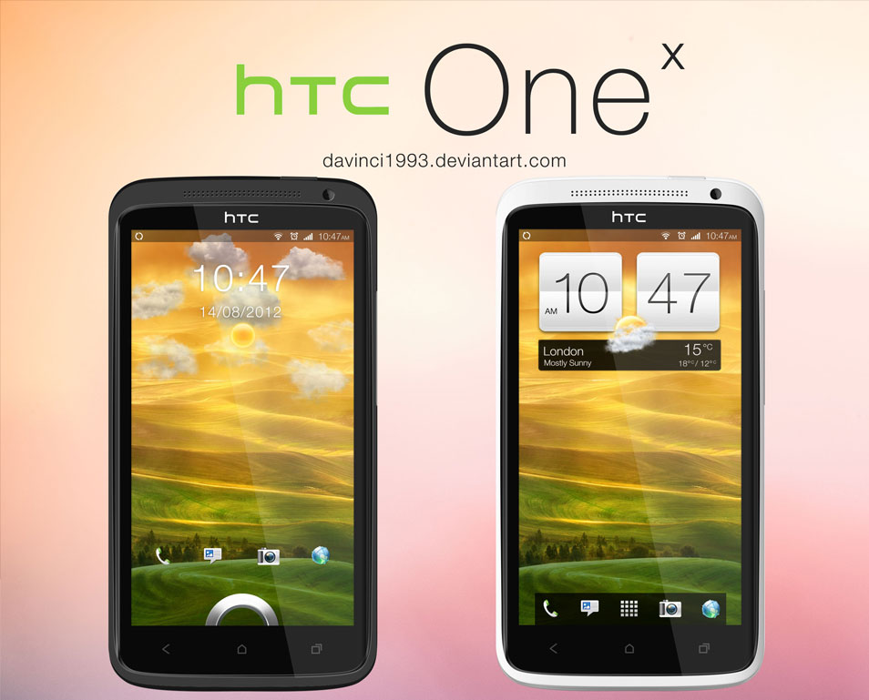 HTC-One-X-PSD