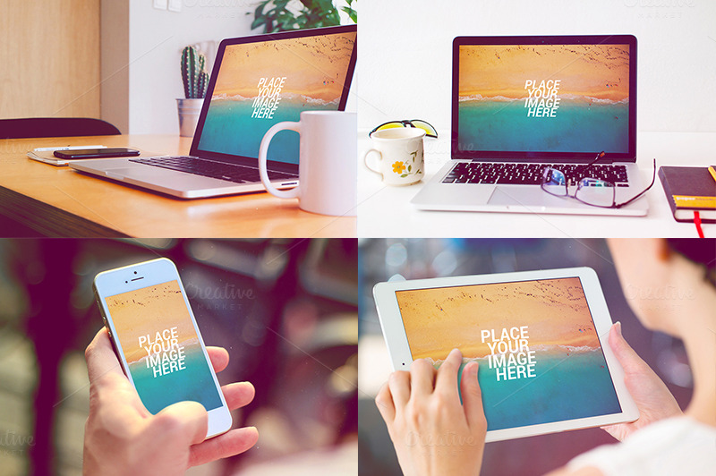 Macbook-iPhone-iPad-Mockups