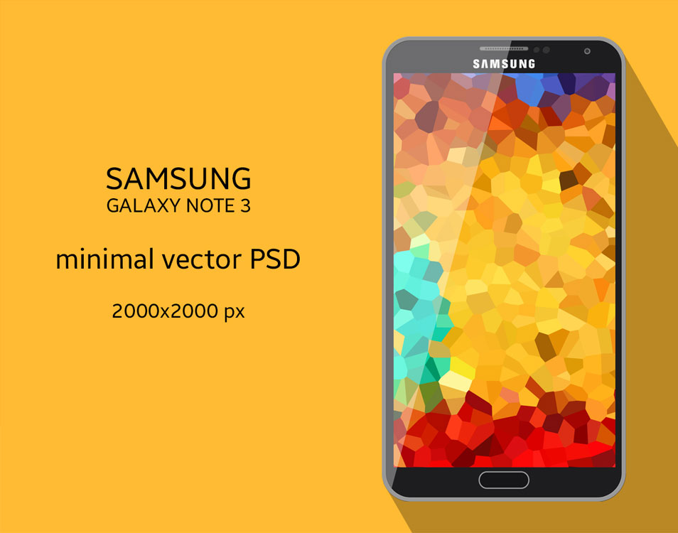 Samsung-Galaxy-Note-3-Vector-PSD