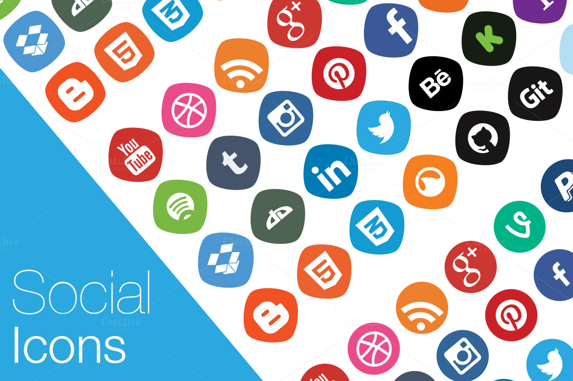 Set-of-Social-media-icons