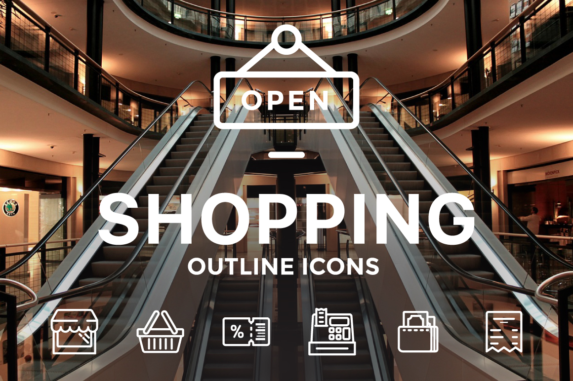 Shopping-Icons-illustrations